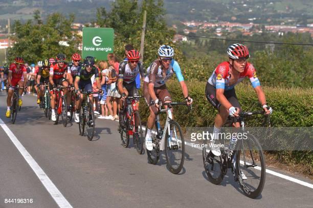 72nd Tour of Spain 2017 / Stage 19 Bob JUNGELS / Romain BARDET / Rui FARIA DA COSTA / Antonio PEDRERO / Caso Parque Natural de Redes Gijon / La...