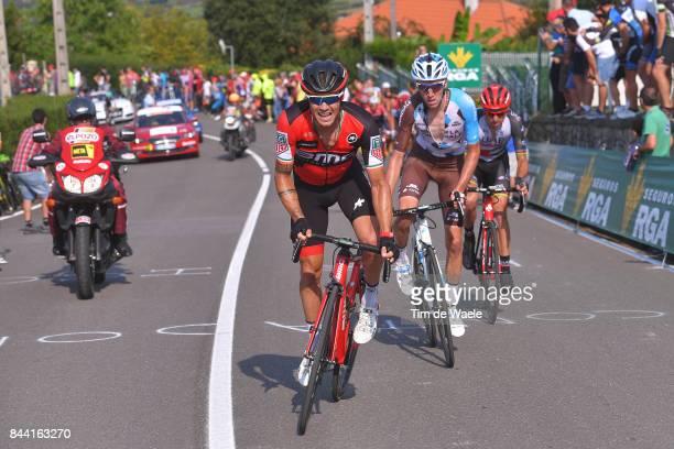 72nd Tour of Spain 2017 / Stage 19 Nicolas ROCHE / Romain BARDET / Matej MOHORIC / Caso Parque Natural de Redes Gijon / La Vuelta /