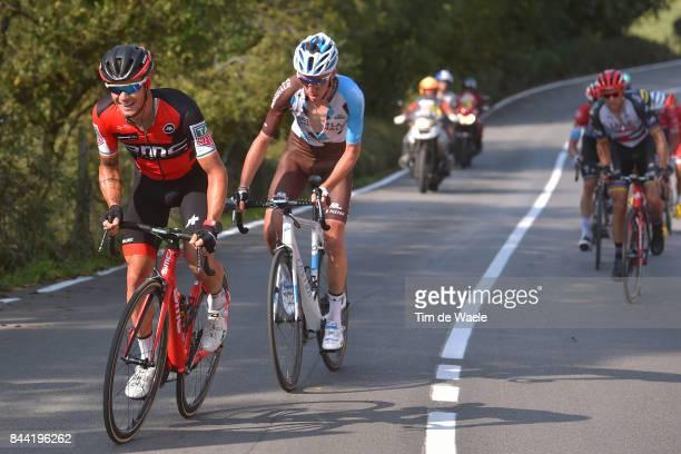 72nd Tour of Spain 2017 / Stage 19 Nicolas ROCHE / Romain BARDET / Caso Parque Natural de Redes Gijon / La Vuelta /