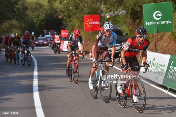 72nd Tour of Spain 2017 / Stage 19 Nicolas ROCHE / Romain BARDET / Rui FARIA DA COSTA / Caso Parque Natural de Redes Gijon / La Vuelta /