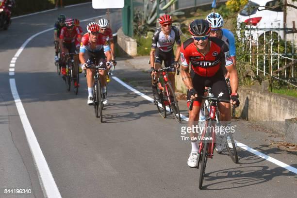 72nd Tour of Spain 2017 / Stage 19 Nicolas ROCHE / Romain BARDET / Rui FARIA DA COSTA / Bob JUNGELS / Caso Parque Natural de Redes Gijon / La Vuelta /