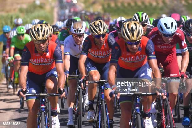 72nd Tour of Spain 2017 / Stage 2 Manuele BOARO / Vincenzo NIBALI / Team Bahrain Merida Pro Cycling Team / Nimes Gruissan Grand NarbonneAude / La...