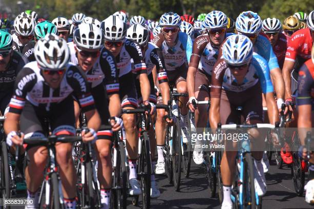 72nd Tour of Spain 2017 / Stage 2 Romain BARDET / Team AG2R La Mondiale / Peloton / Nimes Gruissan Grand NarbonneAude / La Vuelta /