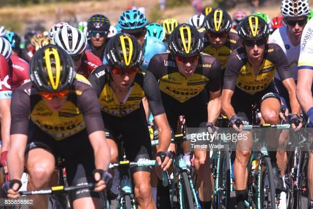 72nd Tour of Spain 2017 / Stage 2 Steven KRUIJSWIJK / Team LottoNLJumbo / Nimes Gruissan Grand NarbonneAude / La Vuelta /
