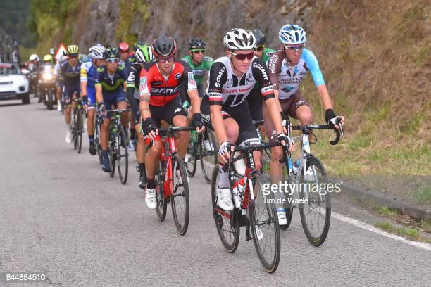 72nd Tour of Spain 2017 / Stage 20 Chris HAMILTON / Romain BARDET / Nicolas ROCHE / Corvera de Asturias Alto de L'Angliru 1560m / La Vuelta /