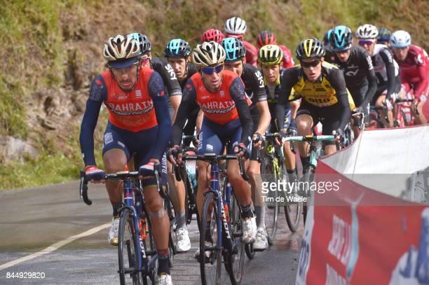 72nd Tour of Spain 2017 / Stage 20 Franco PELLIZOTTI / Vincenzo NIBALI / Steven KRUIJSWIJK / Johan Esteban CHAVES / Corvera de Asturias Alto de...