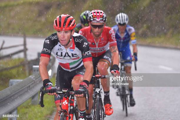 72nd Tour of Spain 2017 / Stage 20 Jan POLANC / Tomasz MARCZYNSKI / Rain / Corvera de Asturias Alto de L'Angliru 1560m / La Vuelta /