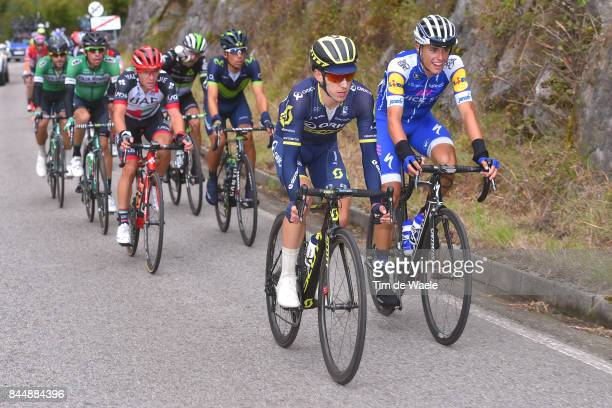 72nd Tour of Spain 2017 / Stage 20 Enric / Adam YATES / Jan POLANC / Nelson OLIVEIRA / Corvera de Asturias Alto de L'Angliru 1560m / La Vuelta /
