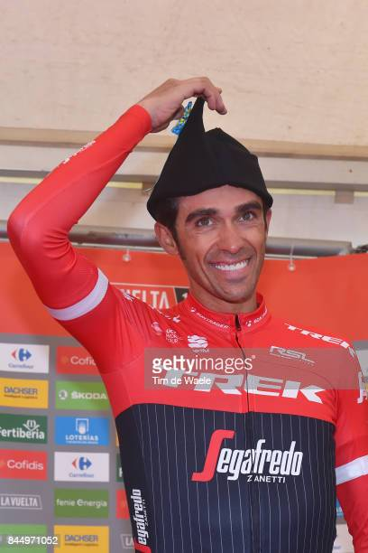 72nd Tour of Spain 2017 / Stage 20 Podium / Alberto CONTADOR / Celebration / Corvera de Asturias Alto de L'Angliru 1560m / La Vuelta /