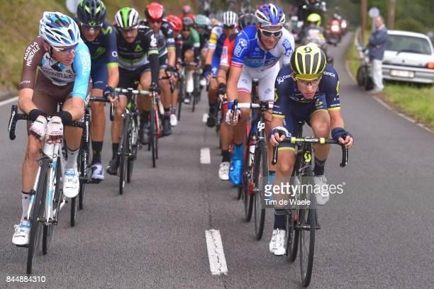 72nd Tour of Spain 2017 / Stage 20 Romain BARDET / Tobias LUDVIGSSON / Adam YATES / Corvera de Asturias Alto de L'Angliru 1560m / La Vuelta /