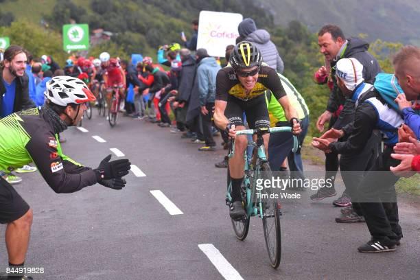 72nd Tour of Spain 2017 / Stage 20 Steven KRUIJSWIJK / Corvera de Asturias Alto de L'Angliru 1560m / La Vuelta /