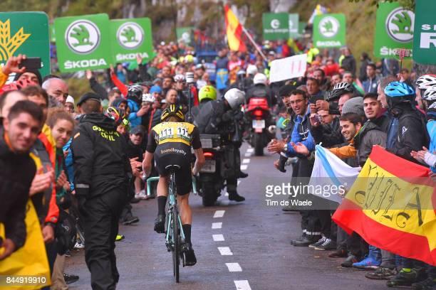 72nd Tour of Spain 2017 / Stage 20 Steven KRUIJSWIJK / Fans / Public / Corvera de Asturias Alto de L'Angliru 1560m / La Vuelta /
