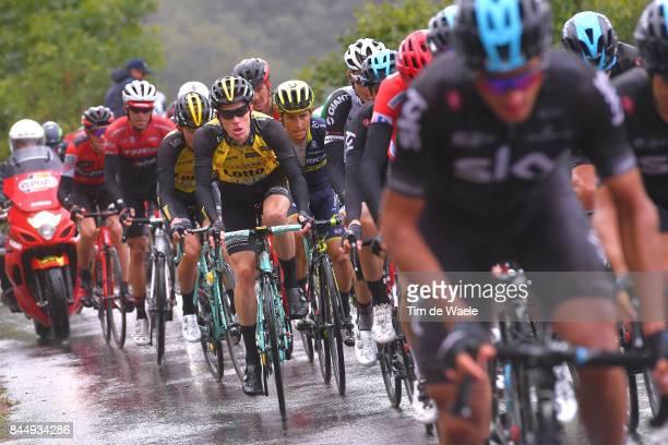 72nd Tour of Spain 2017 / Stage 20 Steven KRUIJSWIJK / Johan Esteban CHAVES / Alberto CONTADOR / Tejay VAN GARDEREN / Corvera de Asturias Alto de...