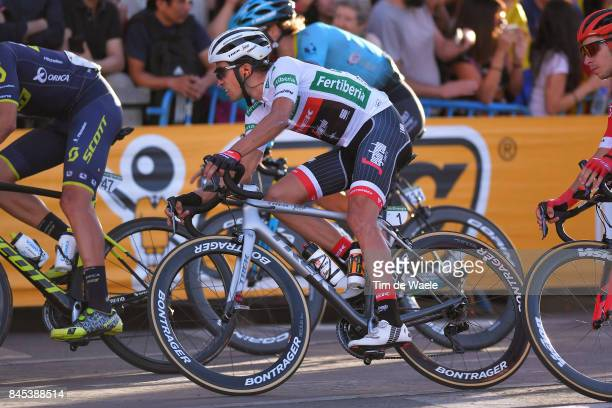 72nd Tour of Spain 2017 / Stage 21 Alberto CONTADOR White Combined Jersey / Arroyomolinos Madrid / La Vuelta /