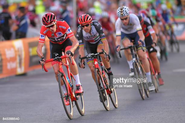72nd Tour of Spain 2017 / Stage 21 Christopher FROOME Red Leader Jersey / Rui FARIA DA COSTA / Arroyomolinos Madrid / La Vuelta /