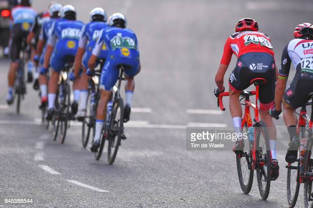 72nd Tour of Spain 2017 / Stage 21 Christopher FROOME Red Leader Jersey / Rui FARIA DA COSTA / Team QuickStep Floors / Arroyomolinos Madrid / La...