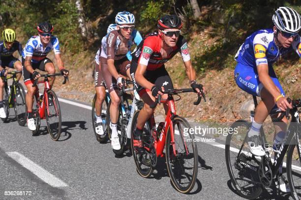 72nd Tour of Spain 2017 / Stage 3 David DE LA CRUZ / Tejay VAN GARDEREN / Romain BARDET / Nicolas ROCHE Polka Dot Mountain Jersey / Prades Conflent...