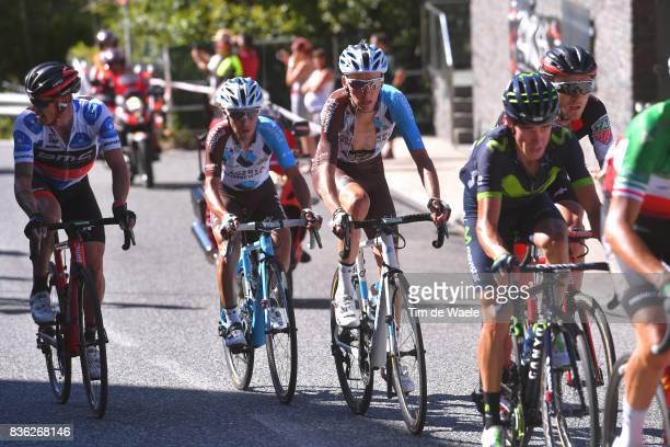 72nd Tour of Spain 2017 / Stage 3 Nicolas ROCHE Polka Dot Mountain Jersey / Romain BARDET / Domenico POZZOVIVO / Tejay VAN GARDEREN / Prades Conflent...