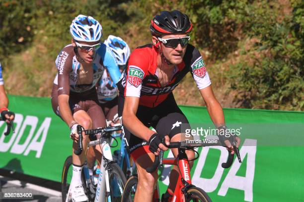 72nd Tour of Spain 2017 / Stage 3 Tejay VAN GARDEREN / Romain BARDET / Prades Conflent Canigo Andorra la Vella / La Vuelta /