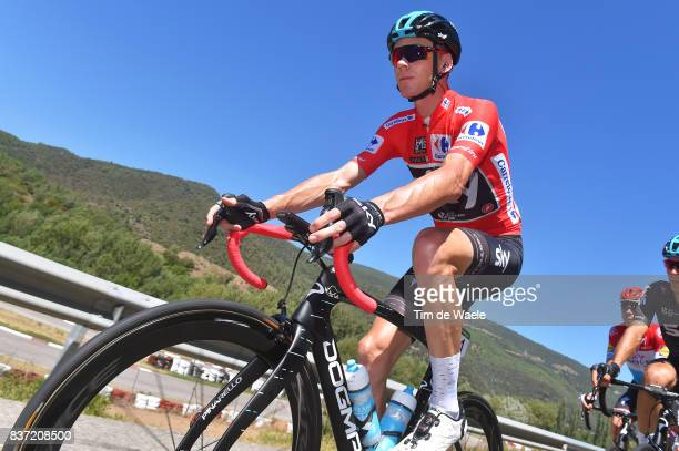 72nd Tour of Spain 2017 / Stage 4 Christopher FROOME Red Leader Jersey / EscaldesEngordany Tarragona Anella Mediterranea 2018 / La Vuelta /