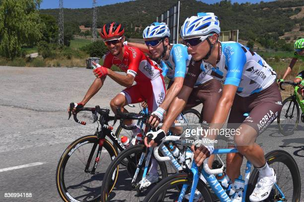 72nd Tour of Spain 2017 / Stage 4 Clement CHEVRIER / Romain BARDET / Guillaume BONNAFOND / EscaldesEngordany Tarragona Anella Mediterranea 2018 / La...
