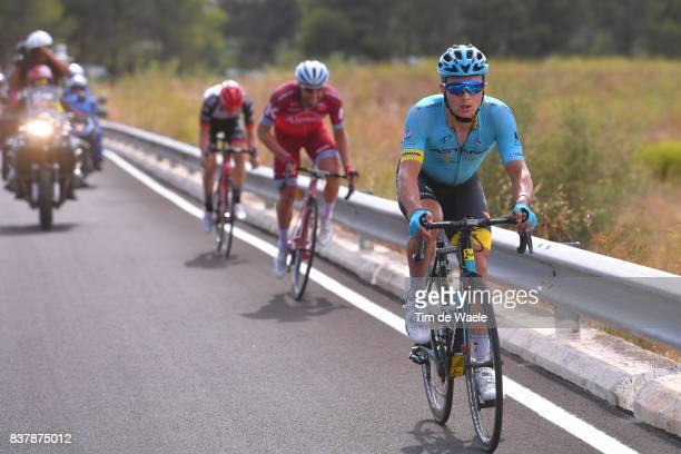 72nd Tour of Spain 2017 / Stage 5 Alexey LUTSENKO / Marco HALLER / Matej MOHORIC / Benicassim Alcossebre 340m / La Vuelta /