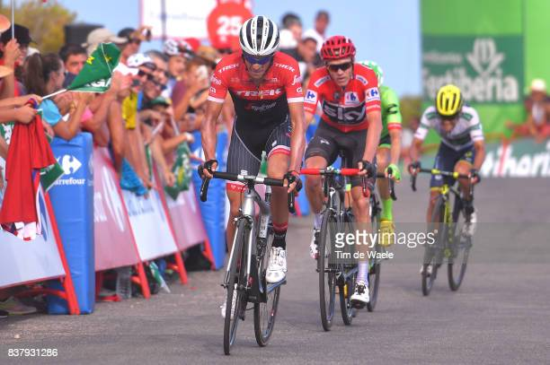 72nd Tour of Spain 2017 / Stage 5 Arrival / Alberto CONTADOR / Christopher FROOME Red Leader Jersey / Benicassim Alcossebre 340m / La Vuelta /
