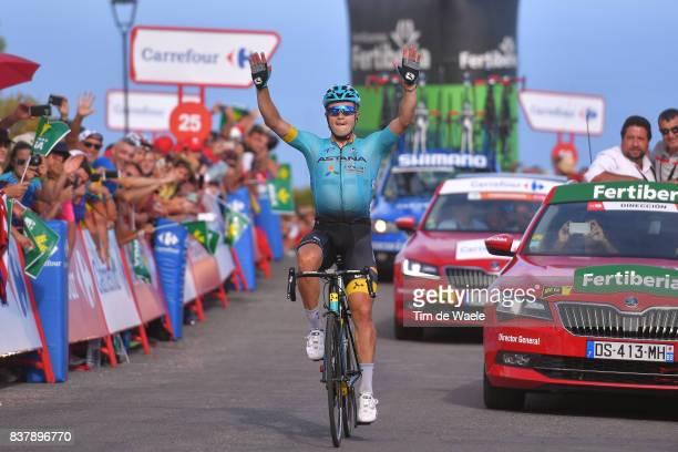72nd Tour of Spain 2017 / Stage 5 Arrival / Alexey LUTSENKO / Celebration / Benicassim Alcossebre 340m / La Vuelta /