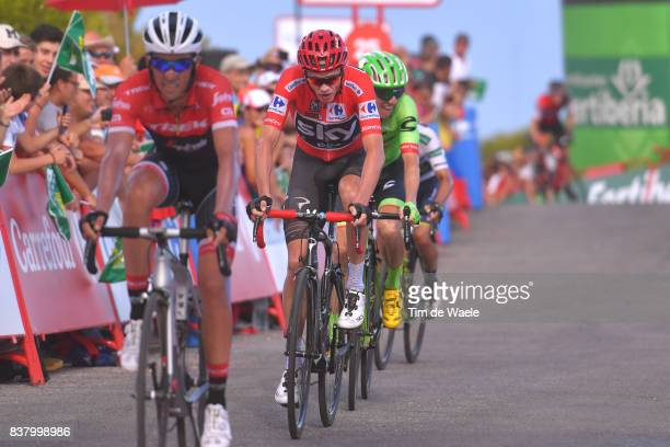 72nd Tour of Spain 2017 / Stage 5 Arrival / Christopher FROOME Red Leader Jersey / Benicassim Alcossebre 340m / La Vuelta /