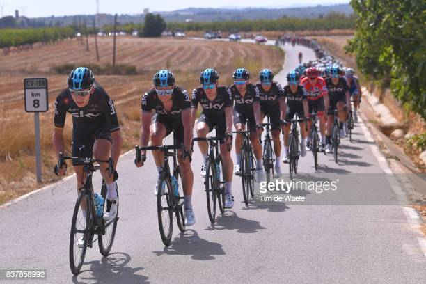 72nd Tour of Spain 2017 / Stage 5 Christian KNEES / Ian STANNARD / Salvatore PUCCIO / David LOPEZ / Gianni MOSCON / Mikel NIEVE ITURALDE / Diego ROSA...