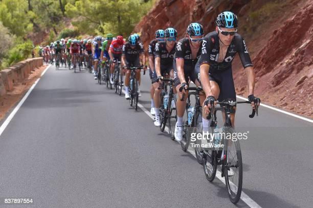 72nd Tour of Spain 2017 / Stage 5 Christian KNEES / Ian STANNARD / Salvatore PUCCIO / Team Sky / Benicassim Alcossebre 340m / La Vuelta /