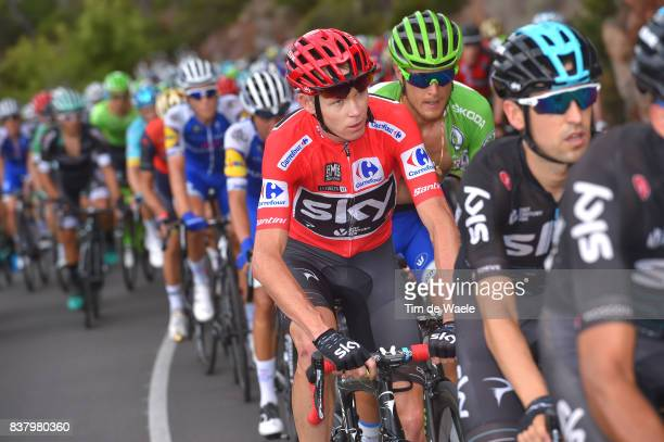 72nd Tour of Spain 2017 / Stage 5 Christopher FROOME Red Leader Jersey / Matteo TRENTIN Green Points Jersey / Benicassim Alcossebre 340m / La Vuelta /