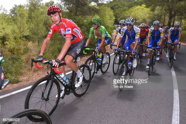 72nd Tour of Spain 2017 / Stage 5 Christopher FROOME Red Leader Jersey / Matteo TRENTIN Green Points Jersey / Eros CAPECCHI / Benicassim Alcossebre...