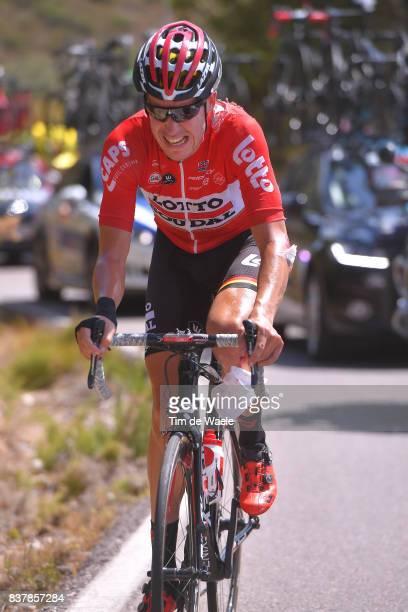 72nd Tour of Spain 2017 / Stage 5 Jelle WALLAYS / Crash / Injury / Benicassim Alcossebre 340m / La Vuelta /