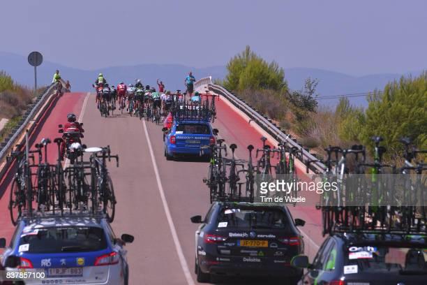 72nd Tour of Spain 2017 / Stage 5 Julian ALAPHILIPPE / Marc SOLER / Davide VILLELLA / Alexey LUTSENKO / Luis Guillermo MAS / Marco HALLER / Jeremy...
