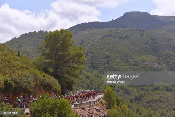 72nd Tour of Spain 2017 / Stage 5 Landscape / Peloton / Mountains / Benicassim Alcossebre 340m / La Vuelta /