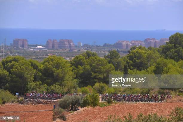 72nd Tour of Spain 2017 / Stage 5 Landscape / Peloton / Sea / Benicassim Alcossebre 340m / La Vuelta /