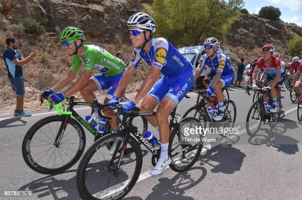 72nd Tour of Spain 2017 / Stage 5 Matteo TRENTIN Green Points Jersey / Niki TERPSTRA / David DE LA CRUZ / Team QuickStep Floors / Benicassim...