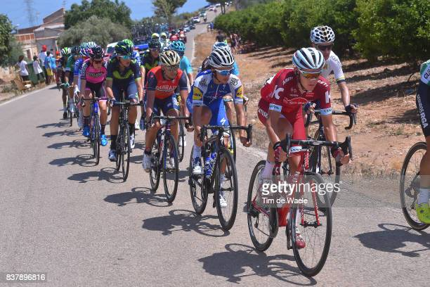 72nd Tour of Spain 2017 / Stage 5 Matvey MAMYKIN / Julian ALAPHILIPPE / Valerio AGNOLI / Benicassim Alcossebre 340m / La Vuelta /