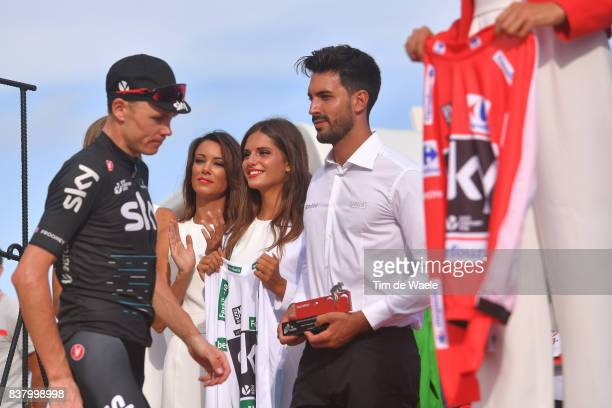 72nd Tour of Spain 2017 / Stage 5 Podium / Christopher FROOME / Miss Hostess / Benicassim Alcossebre 340m / La Vuelta /