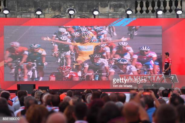 72nd Tour of Spain 2017 / Team Presentation Alberto CONTADOR / Team Presentation / Jardins de la Fontaine / Nimes / La Vuelta /