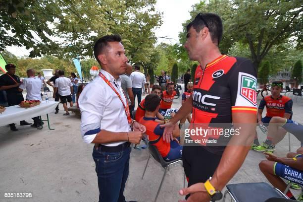 72nd Tour of Spain 2017 / Team Presentation Joaquin RODRIGUEZ / Francisco Jose VENTOSO / Team Presentation / Jardins de la Fontaine / Nimes / La...