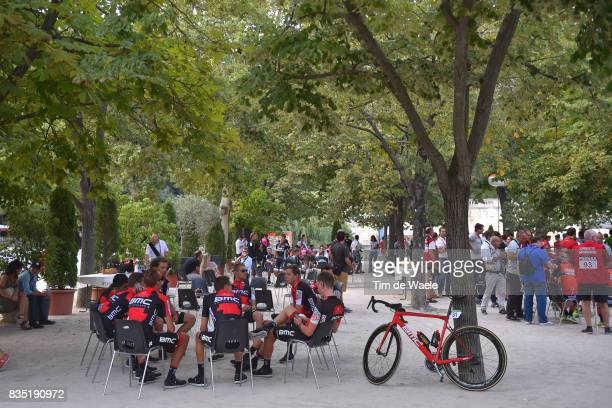 72nd Tour of Spain 2017 / Team Presentation Team BMC Racing Team / Damiano CARUSO / Alessandro DE MARCHI / Rohan DENNIS / Kilian FRANKINY / Daniel...