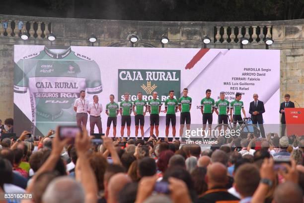 72nd Tour of Spain 2017 / Team Presentation Team Caja Rural Seguros RGA / Sergio PARDILLA / David ARROYO / Fabricio FERRARI / Luis Guillermo MAS /...