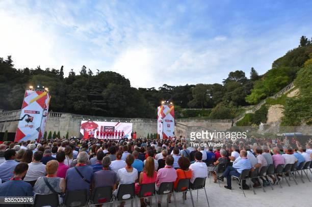 72nd Tour of Spain 2017 / Team Presentation Team Katusha Alpecin / Ilnur ZAKARIN / Maxim BELKOV / Sven Erik BUSTROM / Jose GONCALVES / Marco HALLER /...