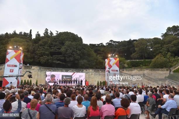 72nd Tour of Spain 2017 / Team Presentation Team ORICAScott / Johan Esteban CHAVES / SAM BEWLEY / Jack HAIG / Magnus CORT NIELSEN / Christopher JUUL...