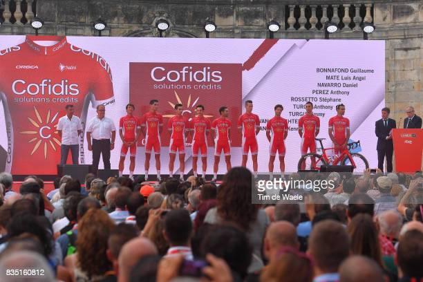 72nd Tour of Spain 2017 / Team Presentation Team Team Presentation / Jardins de la Fontaine / Nimes / La Vuelta /