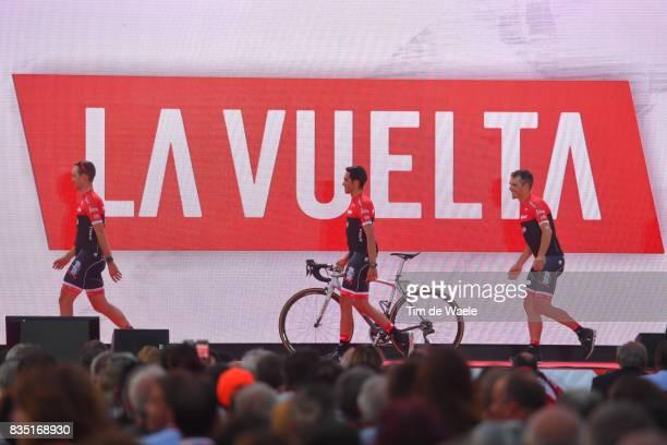 72nd Tour of Spain 2017 / Team Presentation Team Trek Segafredo / Alberto CONTADOR / Team Presentation / Jardins de la Fontaine / Nimes / La Vuelta /
