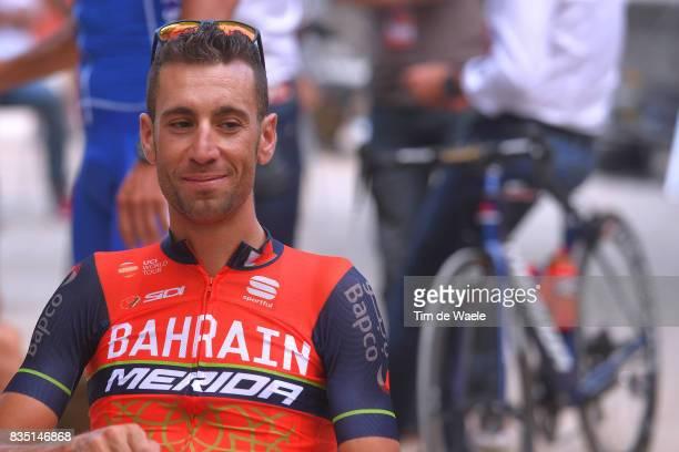 72nd Tour of Spain 2017 / Team Presentation Vincenzo NIBALI / Team Presentation / Jardins de la Fontaine / Nimes / La Vuelta /