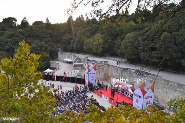 72nd Tour of Spain 2017 / Team Presentation Vincenzo NIBALI / Alberto CONTADOR / Alberto LOSADA / David DE LA CRUZ / Carlos VERONA / Romain BARDET /...